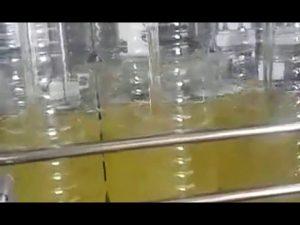máquina de embalagem automática de óleo comestível para garrafas