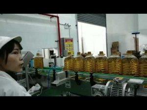 máquina de linha de produção de enchimento da garrafa de óleo da bomba de óleo hidráulica do motor mobil
