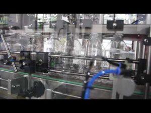 máquina de enchimento líquida do gel desinfetante para as mãos automático