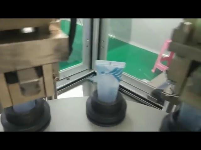 máquina de selagem de enchimento de tubo plástico de alimentos farmacêuticos cosméticos automáticos