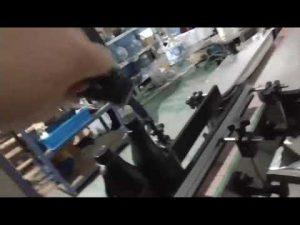 tampa de alumínio em linha reta automática garrafa de alumínio ropp tampando máquina